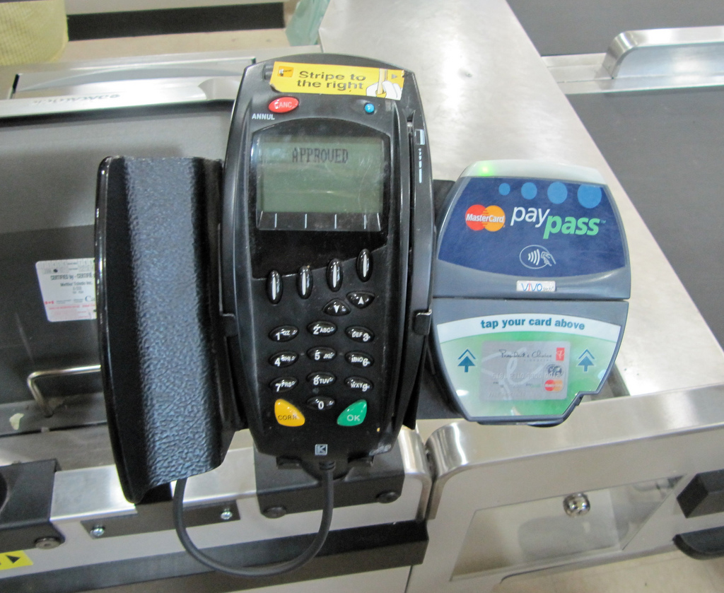 Over the next year or so, terminals like these will accept Apple Pay ... should you get this app?