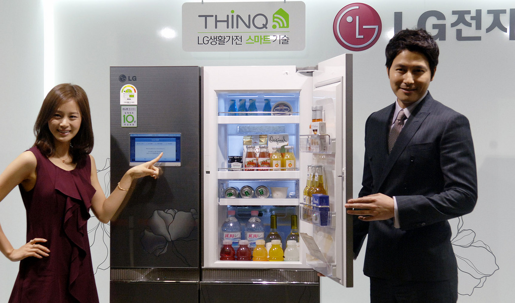 Ultimate gadgets like this smart fridge will make your house a better place ... photo by CC user lge on flickr