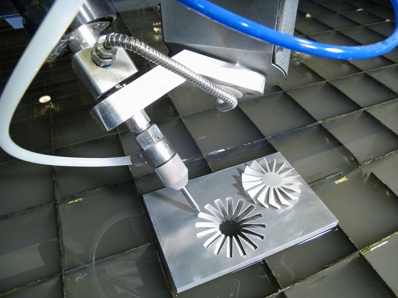 How the Omax Waterjet Creates the Highest Quality Parts for the Aerospace Industry
